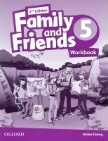 Family and Friends 2nd ED Workbook 5