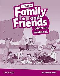 Family and Friends 2nd ED Workbook Starter