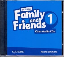 Family and Friends 2nd ED Class Audio CDs 1