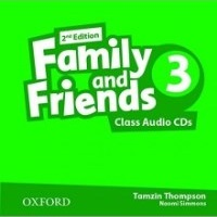 Family and Friends 2nd ED Class Audio CDs 3