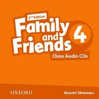 Family and Friends 2nd ED Class Audio CDs 4