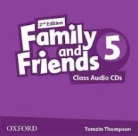 Family and Friends 2nd ED Class Audio CDs 5