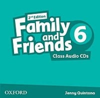 Family and Friends 2nd ED Class Audio CDs 6