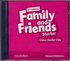 Family and Friends 2nd ED Class Audio CDs Starter