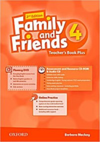 Family and Friends 2nd ED Teacher's Book 4