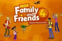 Family and Friends 2nd ED Teacher's Resource Pack 4