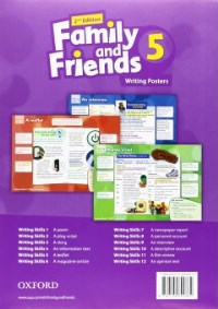Family and Friends 5 Writing Posters 2nd ED