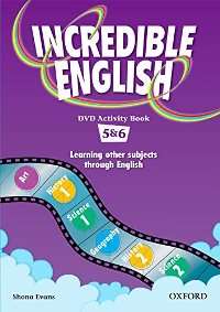 Incredible English DVD Activity Book Levels 5-6