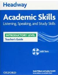 Academic Skills: Listening, Speaking and Study Skills Inrtoductory Level A1-A2