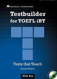 TESTBUILDER for TOEFL iBT with Audio CDs and Answer key