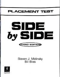 Side by Side Placement Test Third Edition