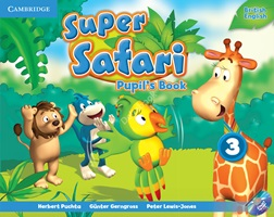 Super Safari 3 Pupil's Book + DVD-ROM