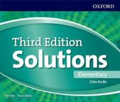 Solutions 3ED ELEMENTARY CLASS CDs (3)
