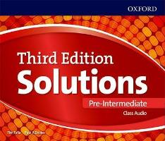Solutions 3ED PRE-INTERMEDIATE CLASS CDs (3)