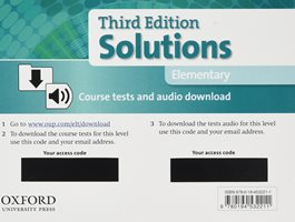 Solutions 3ED ELEMENTARY Tests Pack