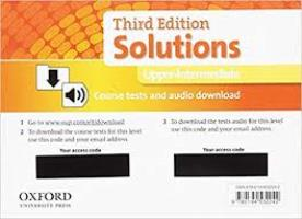 Solutions 3ED UPPER-INTERMEDIATE Tests Pack