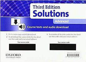 Solutions 3ED ADVANCED Tests Pack