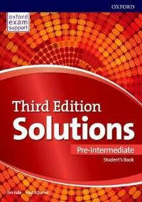 Solutions 3ED PRE-INTERMEDIATE Student's Book