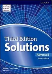 Solutions 3ED ADVANCED Student's Book