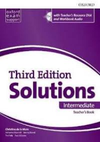 Solutions 3ED INTERMEDIATE Teacher's Book