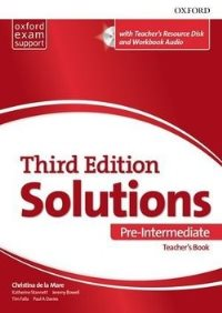 Solutions 3ED PRE-INTERMEDIATE Teacher's Book