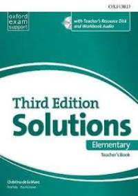 Solutions 3ED ELEMENTARY Teacher's Book