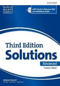 Solutions 3ED ADVANCED Teacher's Book