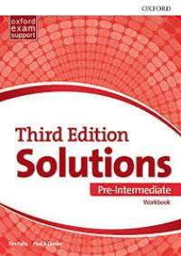 Solutions 3ED PRE-INTERMEDIATE Workbook