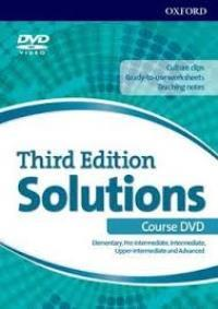 Solutions 3ED ELEMENTARY-ADVANCED DVD (all levels)
