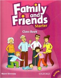 Family and Friends Starter Class Book with MultiRom