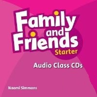 Family and Friends Starter Class Audio CDs