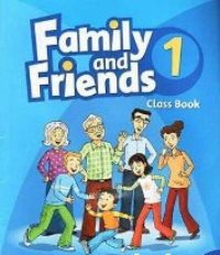 Family and Friends Level 1 Class Book with MultiRom