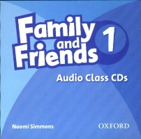 Family and Friends Level 1 Class Audio CDs