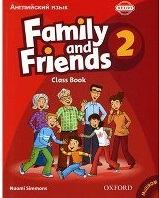 Family and Friends Level 2 Class Book with MultiRom