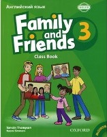 Family and Friends Level 3 Class Book with MultiRom