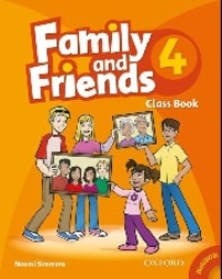 Family and Friends Level 4 Class Book with MultiRom