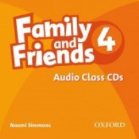 Family and Friends Level 4 Class Audio CDs