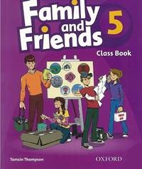 Family and Friends Level 5 Class Book with MultiRom