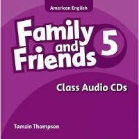 Family and Friends Level 5 Class Audio CDs