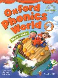 Oxford Phonics World 2 Student's  Book with Multi-ROM