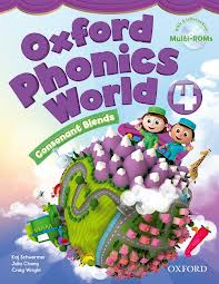 Oxford Phonics World 4 Student's  Book with Multi-ROM
