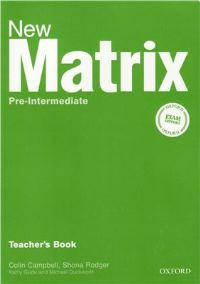 New Matrix Pre-intermediate Teacher's Book
