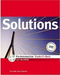 Solutions Pre-intermediate Student's Book + MultiROM