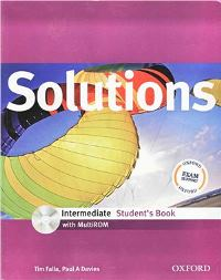 Solutions Intermediate Student's Book + MultiROM