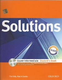 Solutions Upper-Intermediate Student's Book + MultiROM