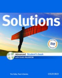 Solutions Advanced Student's Book + MultiROM