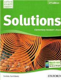 Solutions 2ED Elementary Student's Book