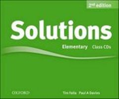 Solutions 2ED Elementary Class Audio CDs