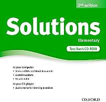 Solutions 2ED Elementary Test Bank CD-ROM