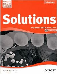 Solutions 2ED Pre-intermediate Workbook and Audio CD Pack